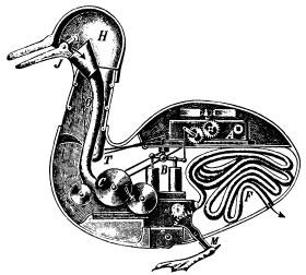 Le canard automate de Vaucanson