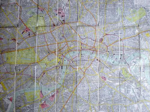 Plan de Londres de 1908