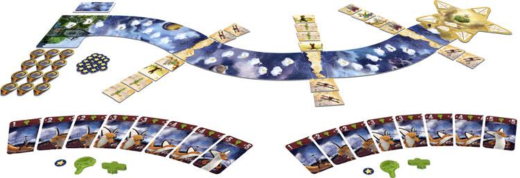 Le parcours et les cartes du Petit Prince de Ludonaute