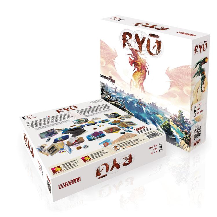 La boîte de Ryu de Moonstergames