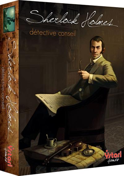 La boîte de Sherlock Holmes Détective Conseil